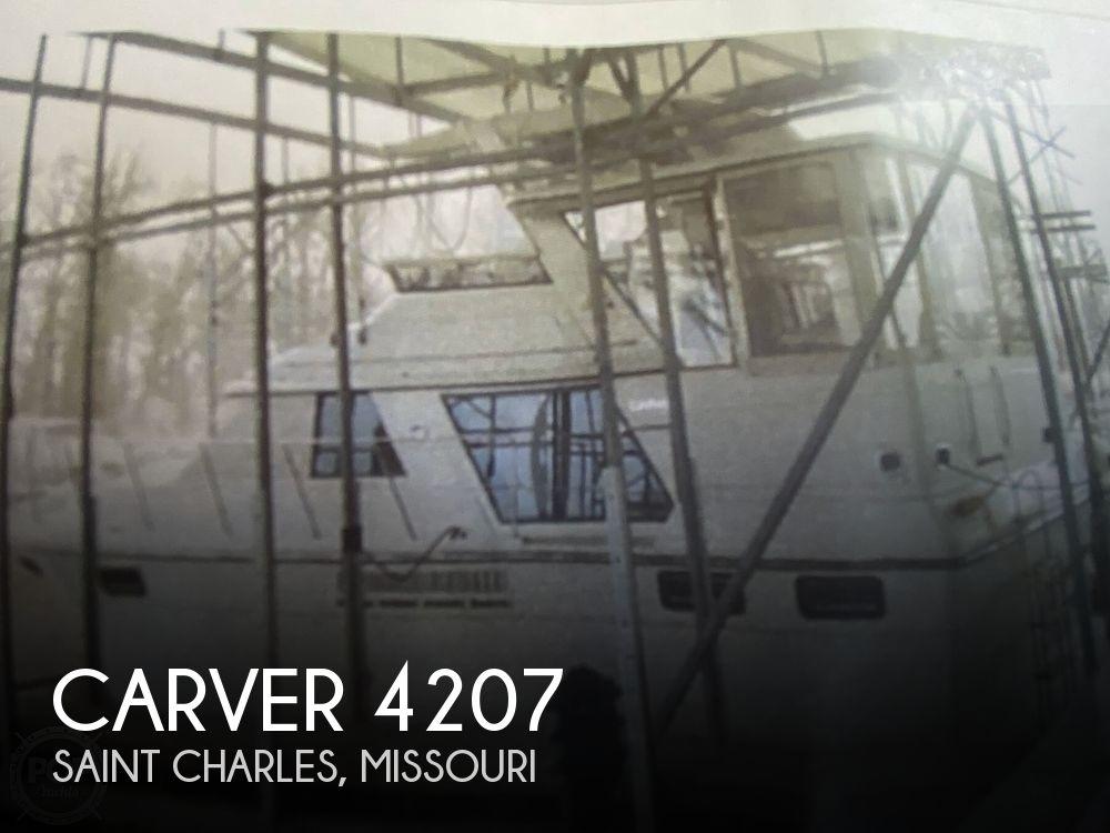 Used Carver Motoryachts For Sale by owner | 1991 Carver 4207 Aft Cabin