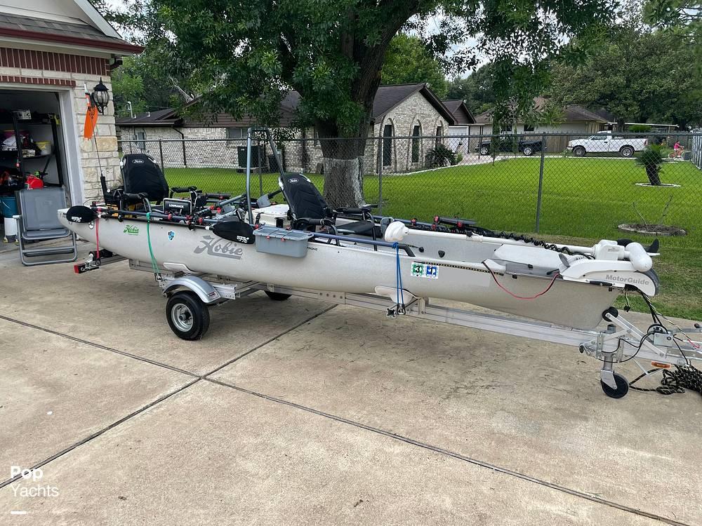 2019 Hobie boat for sale, model of the boat is Mirage Pro Angler 17T Tandem & Image # 20 of 41