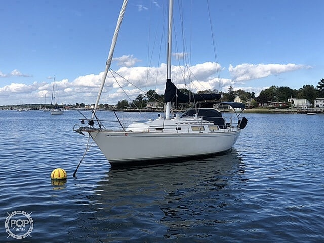 1986 Sabre boat for sale, model of the boat is 32 CB & Image # 9 of 40