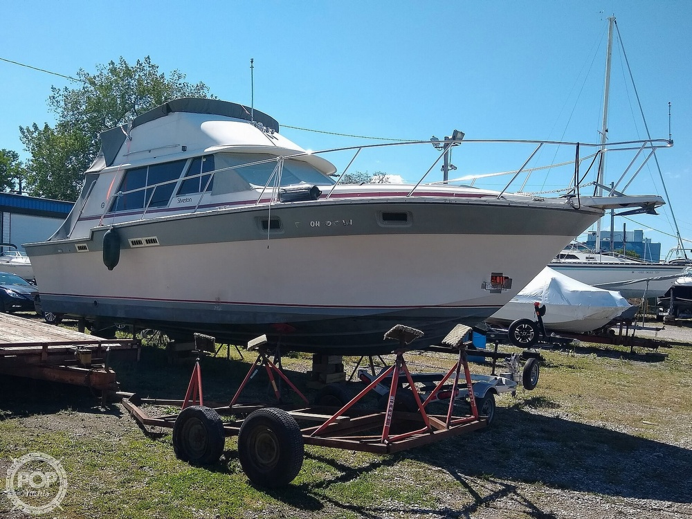 1986 Silverton boat for sale, model of the boat is 34 Convertible & Image # 2 of 40