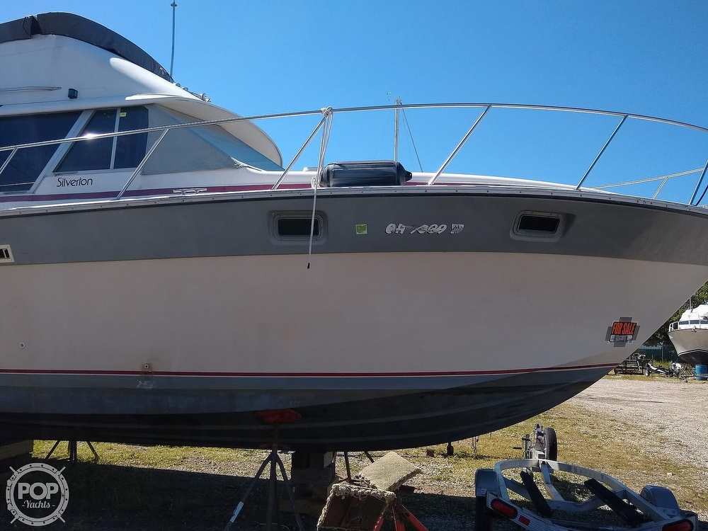 1986 Silverton boat for sale, model of the boat is 34 Convertible & Image # 21 of 40