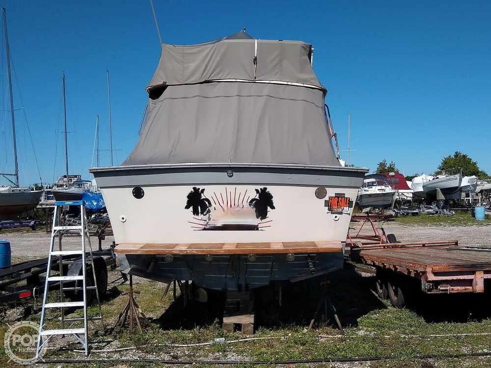 1986 Silverton boat for sale, model of the boat is 34 Convertible & Image # 25 of 40