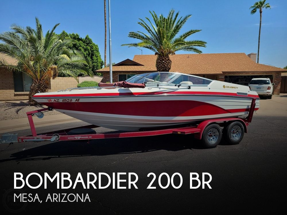 Used Bombardier Boats For Sale by owner | 1996 20 foot Bombardier Celebrity