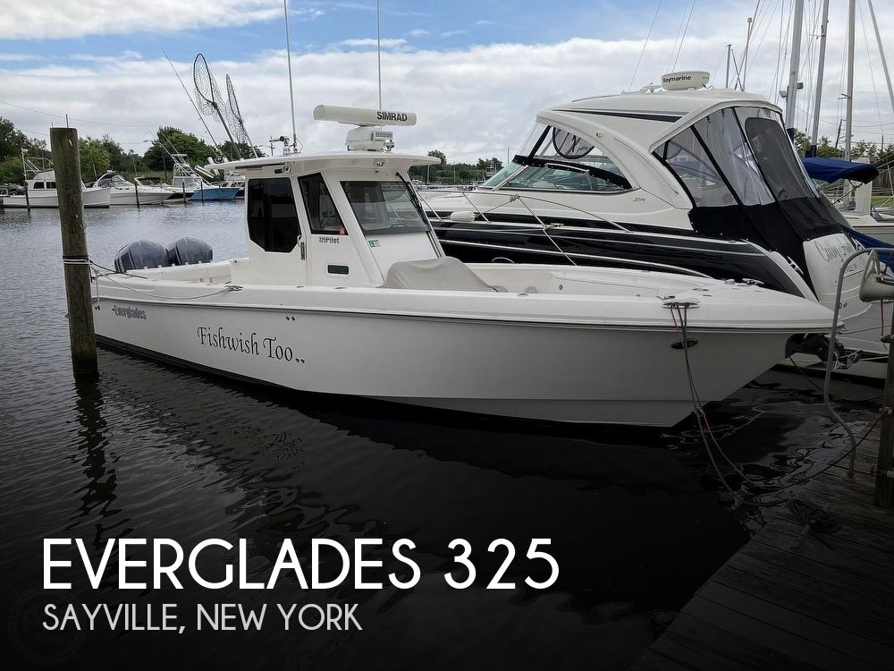 Used Power boats For Sale in Bridgeport, Connecticut by owner   2012 Everglades 325 Pilot