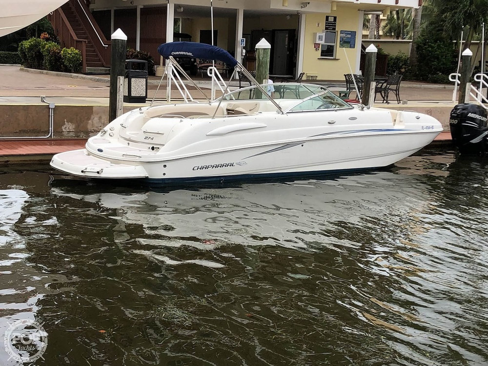 2007 Chaparral boat for sale, model of the boat is Sunesta 274 & Image # 2 of 40