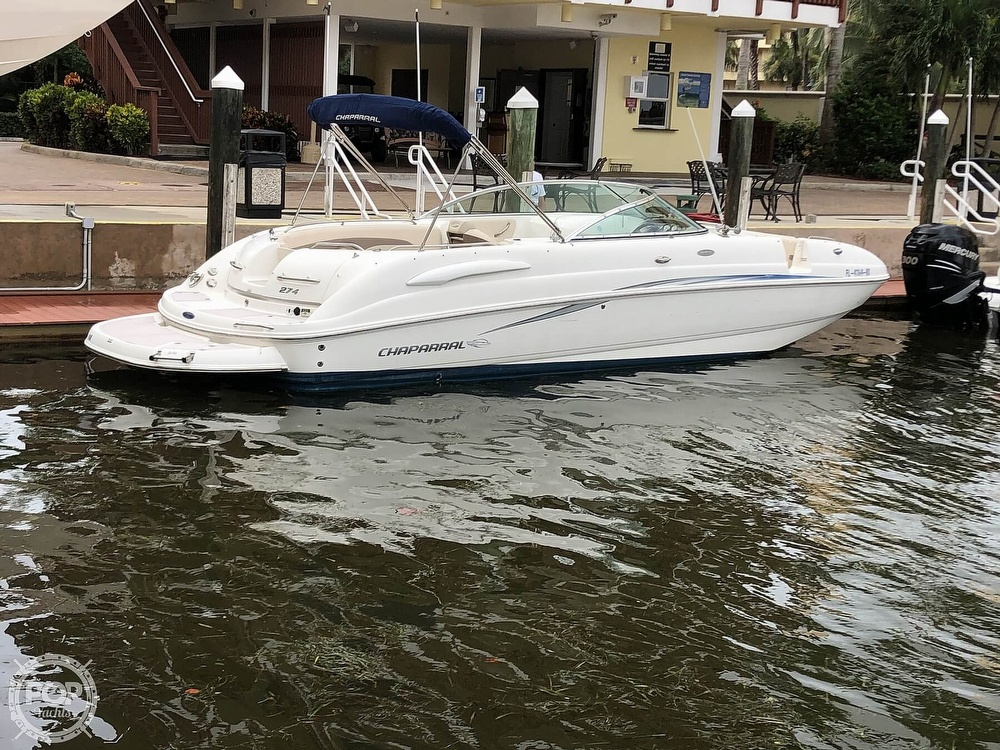2007 Chaparral boat for sale, model of the boat is Sunesta 274 & Image # 3 of 40