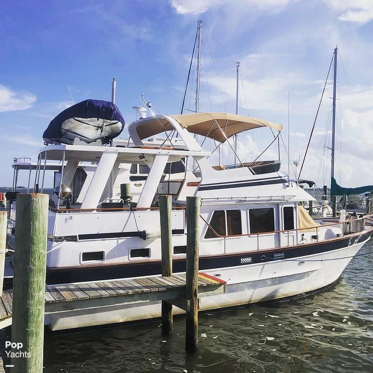 1986 Marine Trader boat for sale, model of the boat is Sundeck & Image # 12 of 40