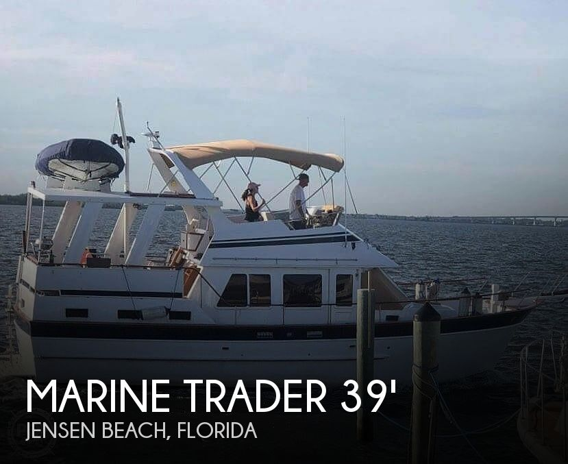 1986 Marine Trader boat for sale, model of the boat is Sundeck & Image # 1 of 40