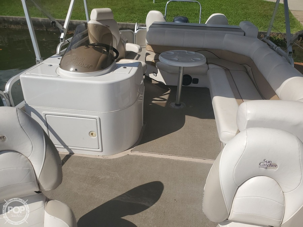 2008 SunCatcher boat for sale, model of the boat is LX3 22 Fish & cruise & Image # 6 of 40
