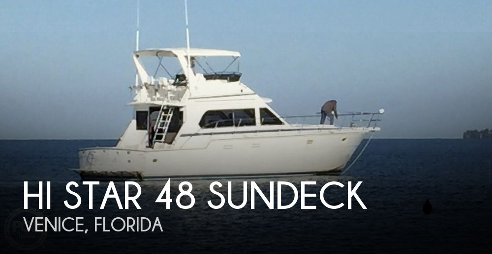 1988 Hi Star boat for sale, model of the boat is 48 & Image # 1 of 1