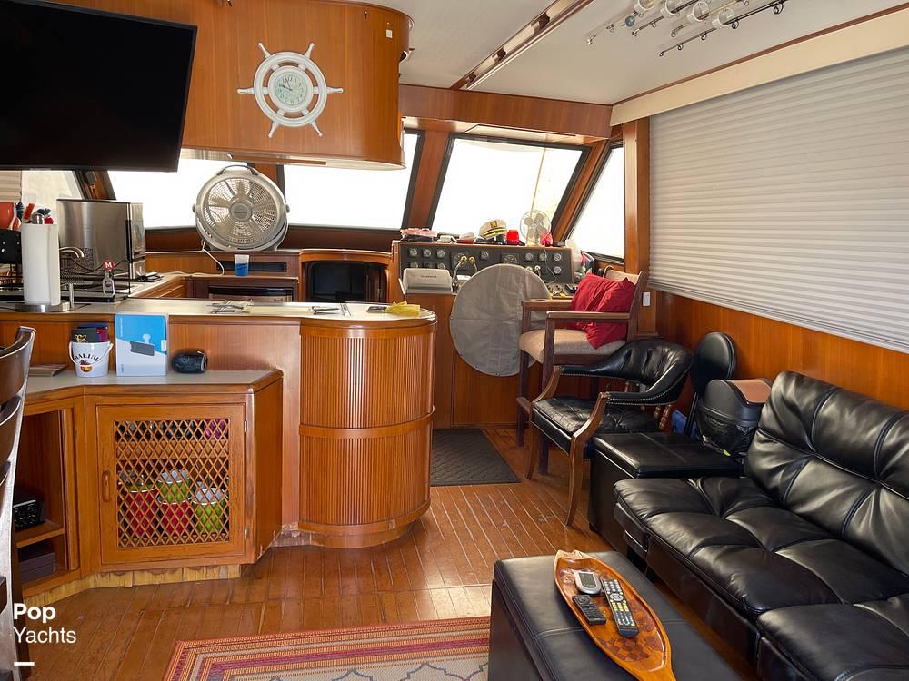 1988 Hi Star boat for sale, model of the boat is 48 Sundeck & Image # 28 of 40