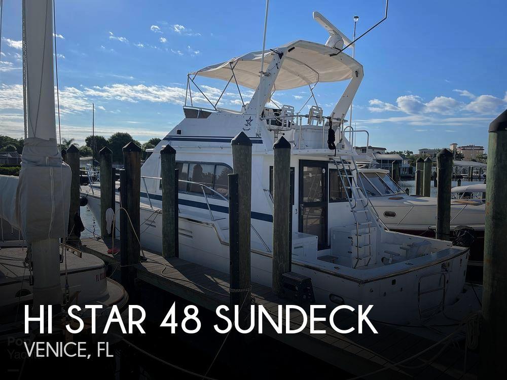 1988 Hi Star boat for sale, model of the boat is 48 Sundeck & Image # 1 of 40