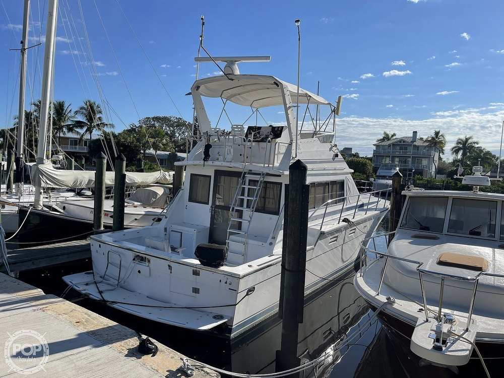 1988 Hi Star boat for sale, model of the boat is 48 Sundeck & Image # 2 of 40