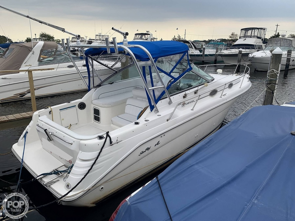 1996 Sea Ray boat for sale, model of the boat is 270 Sundancer & Image # 6 of 40