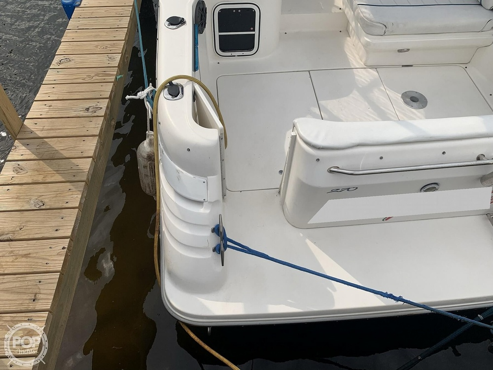 1996 Sea Ray boat for sale, model of the boat is 270 Sundancer & Image # 11 of 40