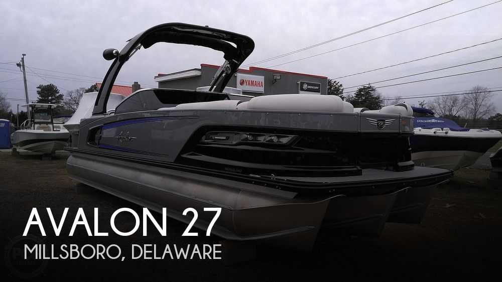 Used Power boats For Sale in Delaware by owner | 2020 Avalon Excalibur Elite Windshield 27