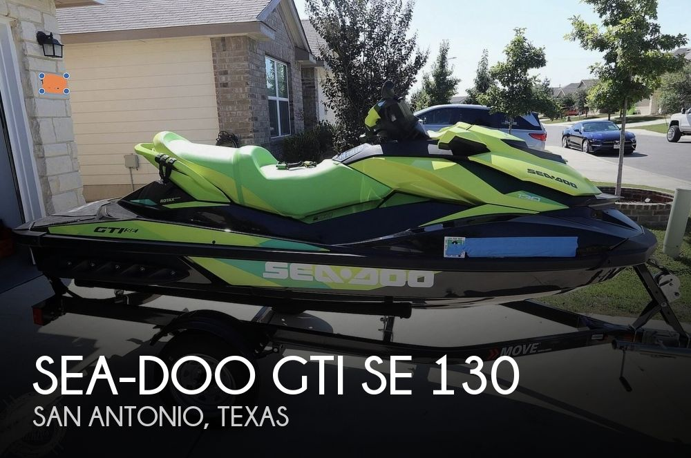 2019 Sea Doo PWC boat for sale, model of the boat is GTI SE 130 & Image # 1 of 26