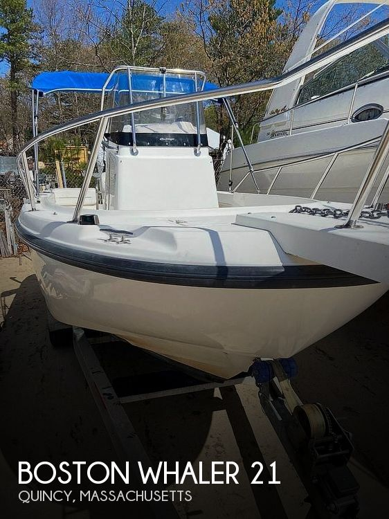 2000 Boston Whaler boat for sale, model of the boat is 21 outrage & Image # 1 of 7
