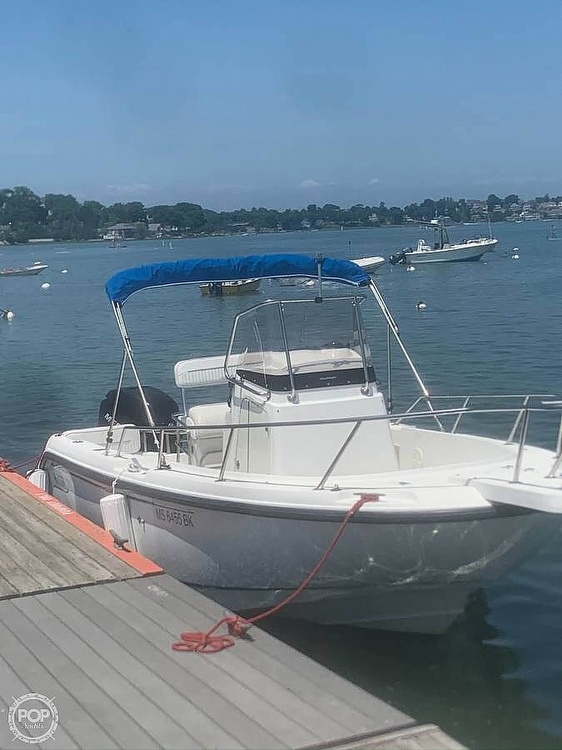 2000 Boston Whaler boat for sale, model of the boat is 21 outrage & Image # 5 of 7