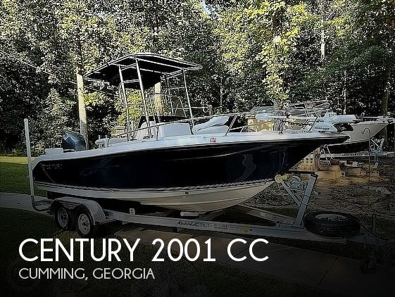 2006 Century boat for sale, model of the boat is 2001 CC & Image # 1 of 40