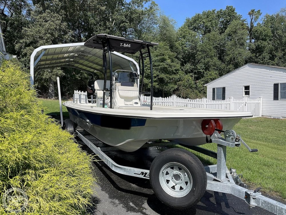 2017 Mako boat for sale, model of the boat is Pro Skiff 19 & Image # 14 of 40