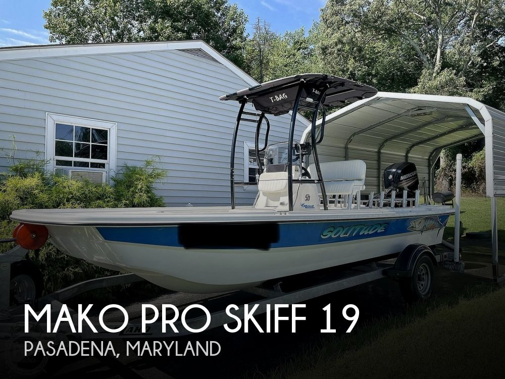 2017 Mako boat for sale, model of the boat is Pro Skiff 19 & Image # 1 of 40