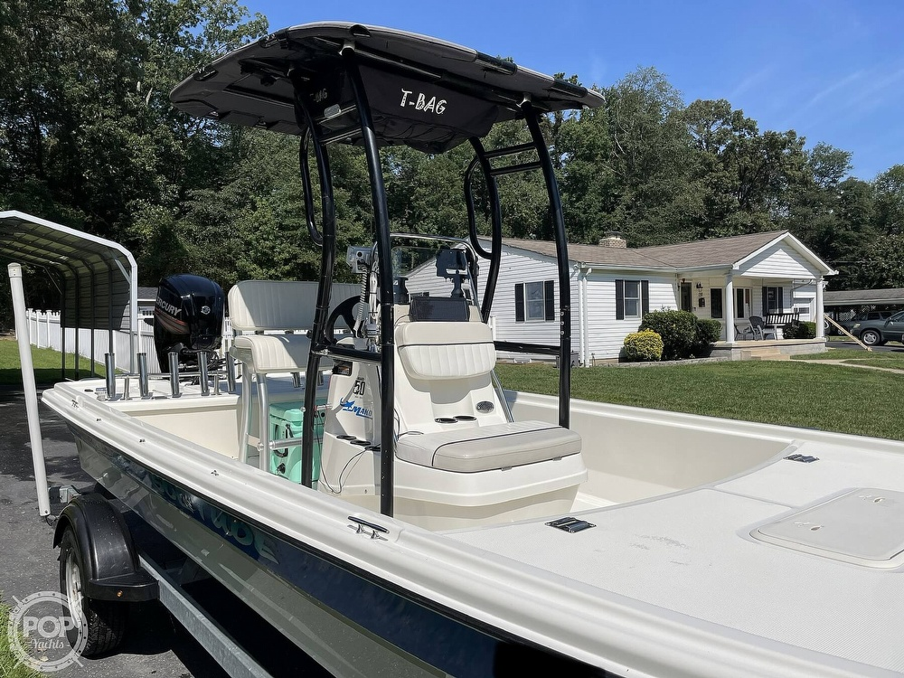 2017 Mako boat for sale, model of the boat is Pro Skiff 19 & Image # 3 of 40