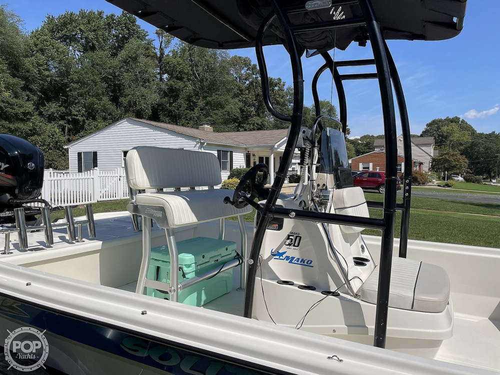 2017 Mako boat for sale, model of the boat is Pro Skiff 19 & Image # 25 of 40