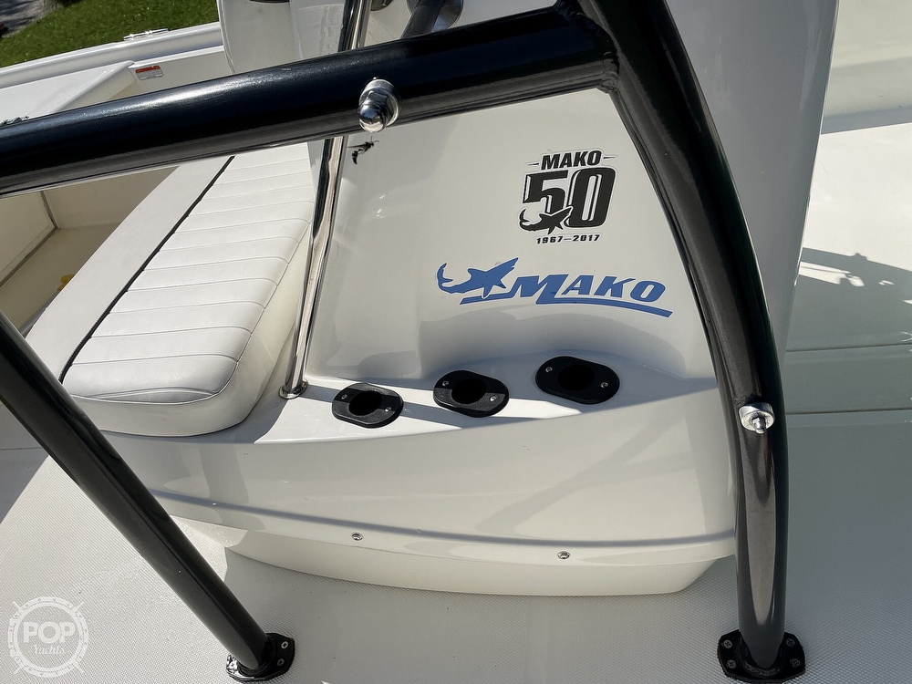 2017 Mako boat for sale, model of the boat is Pro Skiff 19 & Image # 39 of 40