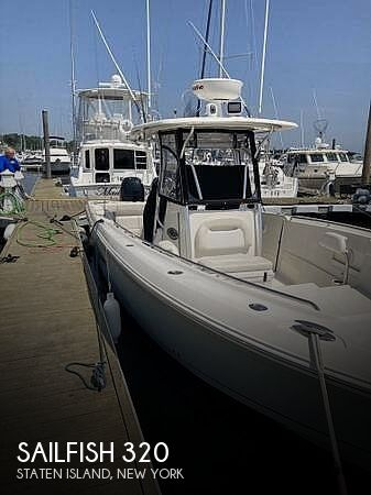 Used Power boats For Sale in Philadelphia, Pennsylvania by owner | 2014 Sailfish 320
