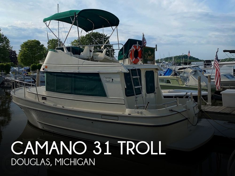 2004 Camano boat for sale, model of the boat is 31 Troll & Image # 1 of 40