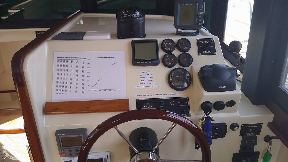 2004 Camano boat for sale, model of the boat is 31 Troll & Image # 6 of 40