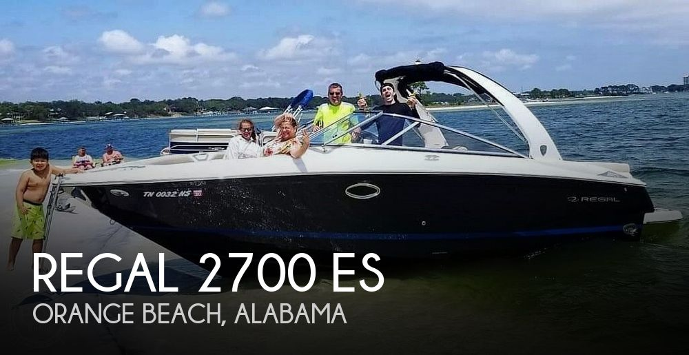 Used Power boats For Sale in Mobile, Alabama by owner   2015 Regal 2700 Es