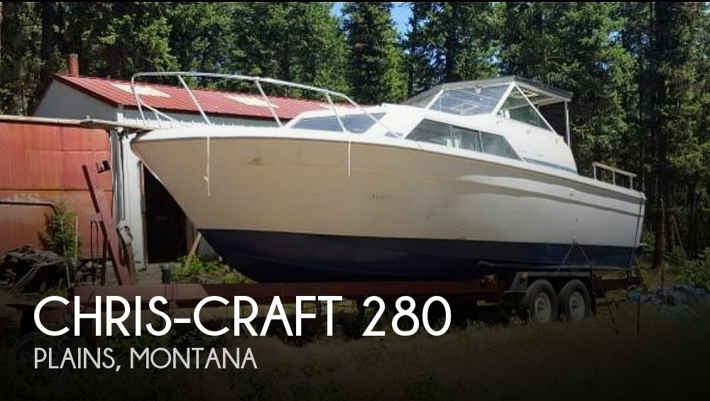 1980 Chris Craft boat for sale, model of the boat is 280 & Image # 1 of 38