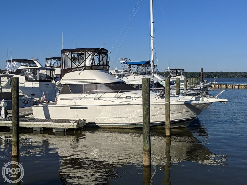 1991 Silverton boat for sale, model of the boat is 34C & Image # 3 of 40