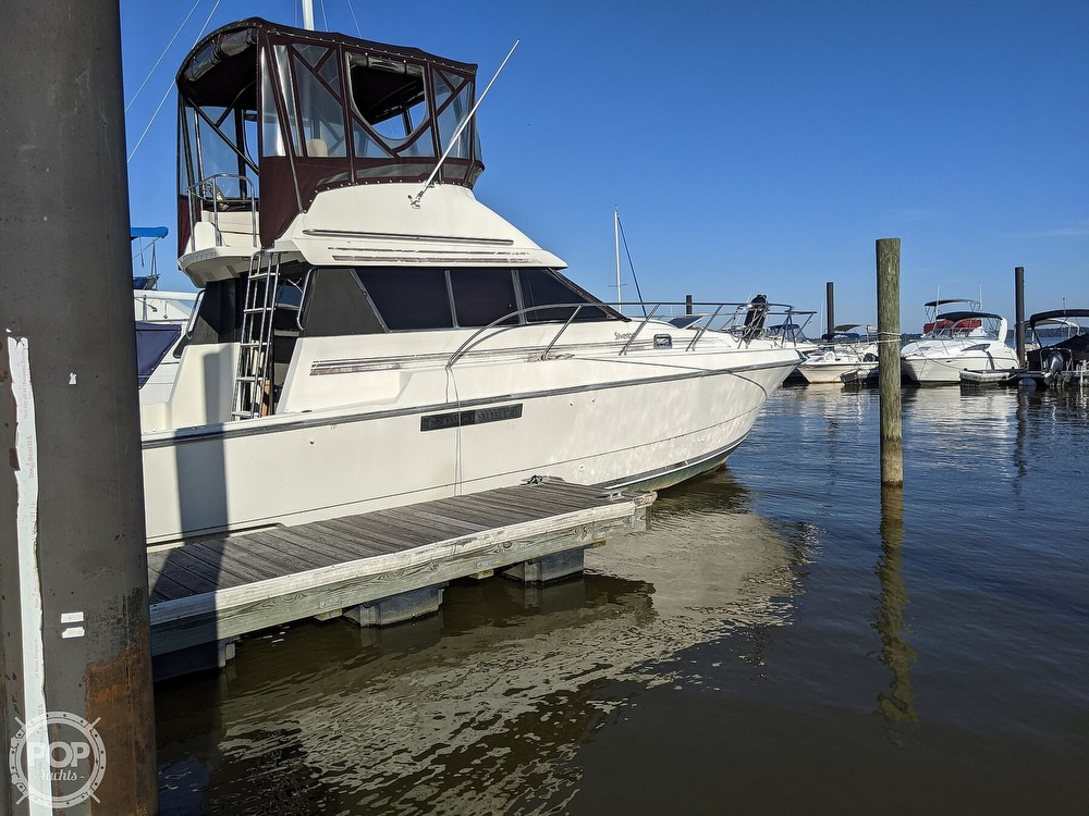 1991 Silverton boat for sale, model of the boat is 34C & Image # 4 of 40