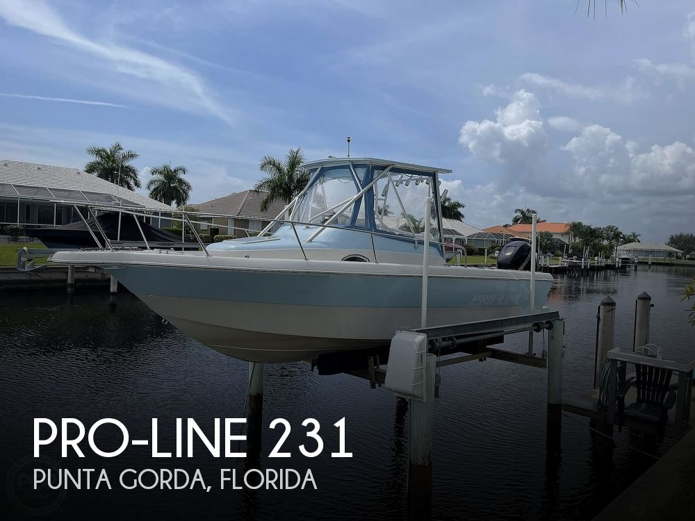 1997 Pro-Line boat for sale, model of the boat is 231 Walkaround & Image # 1 of 40