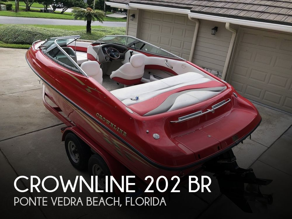1998 Crownline boat for sale, model of the boat is 202 BR & Image # 1 of 40