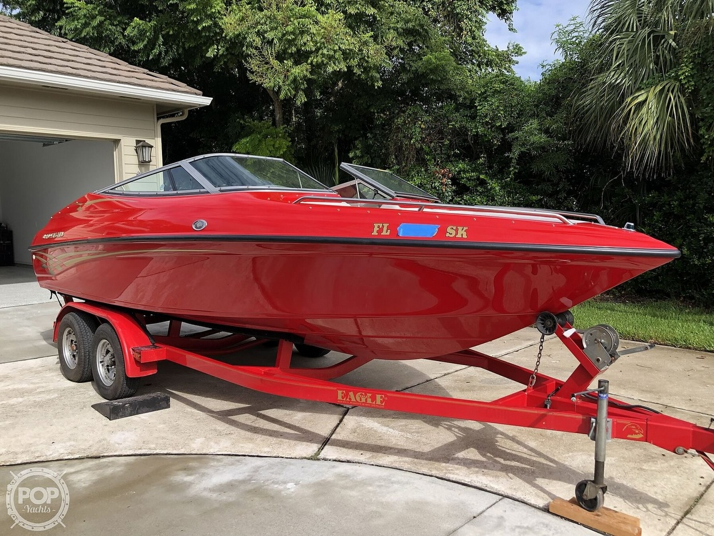 1998 Crownline boat for sale, model of the boat is 202 BR & Image # 3 of 40