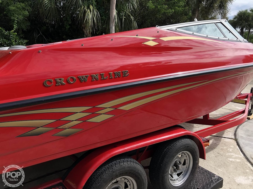 1998 Crownline boat for sale, model of the boat is 202 BR & Image # 24 of 40