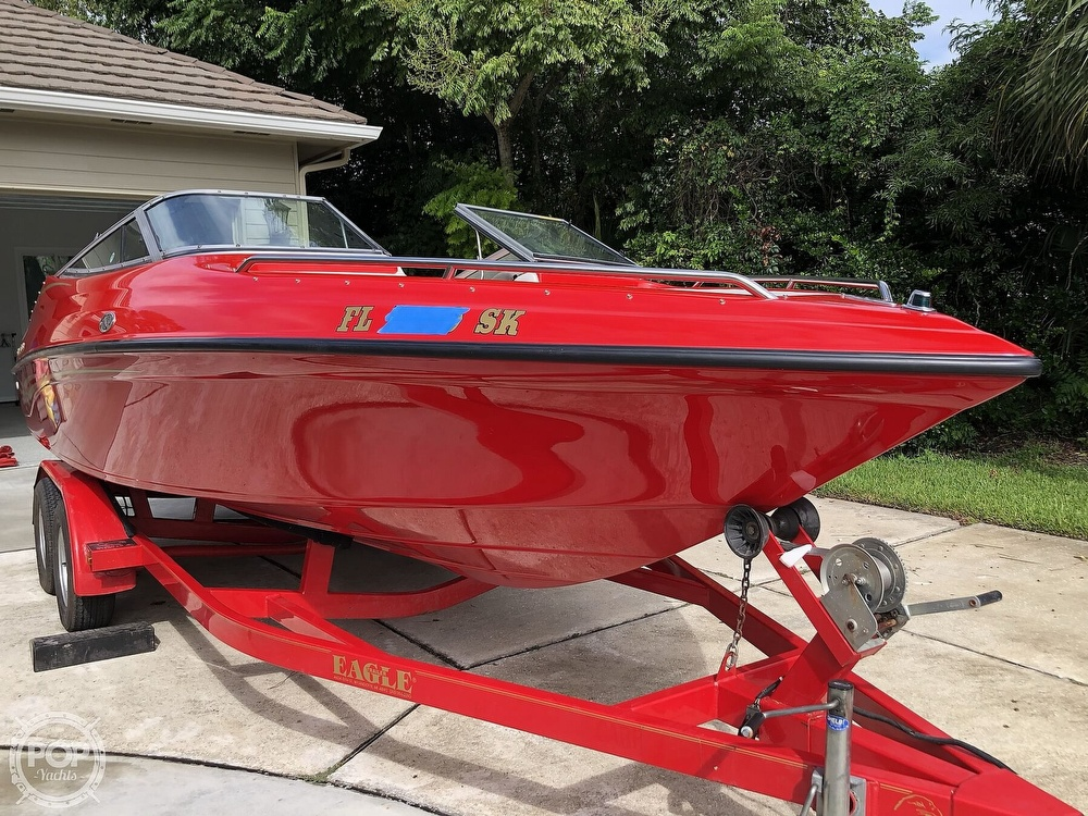 1998 Crownline boat for sale, model of the boat is 202 BR & Image # 26 of 40