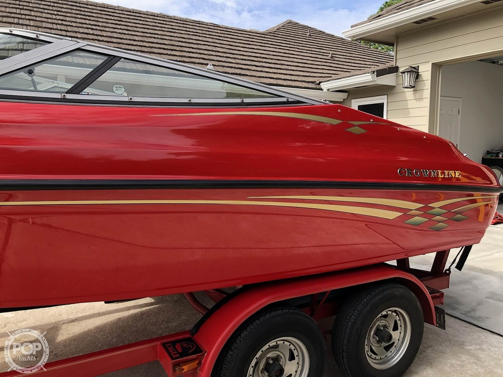 1998 Crownline boat for sale, model of the boat is 202 BR & Image # 31 of 40