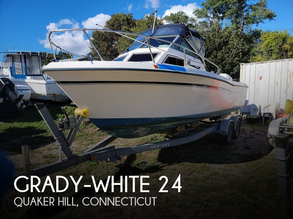1982 Grady-White boat for sale, model of the boat is 24 Caribbean Walkaround Cuddy & Image # 1 of 40