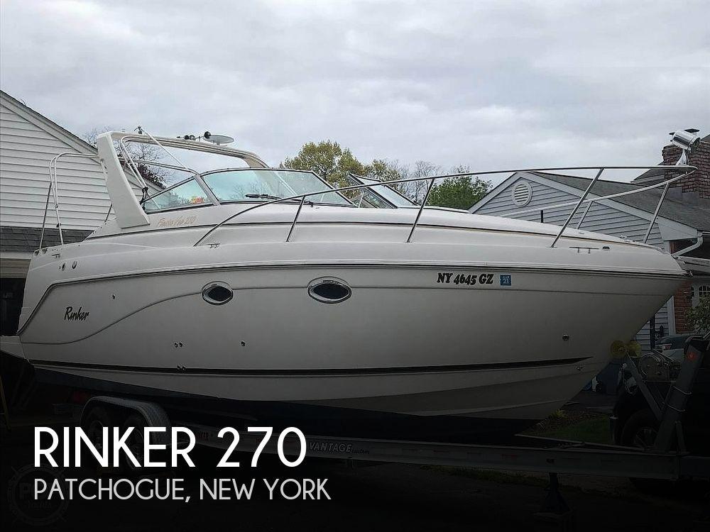 Used Rinker 27 Boats For Sale by owner | 2003 Rinker 270  Fiesta Vee