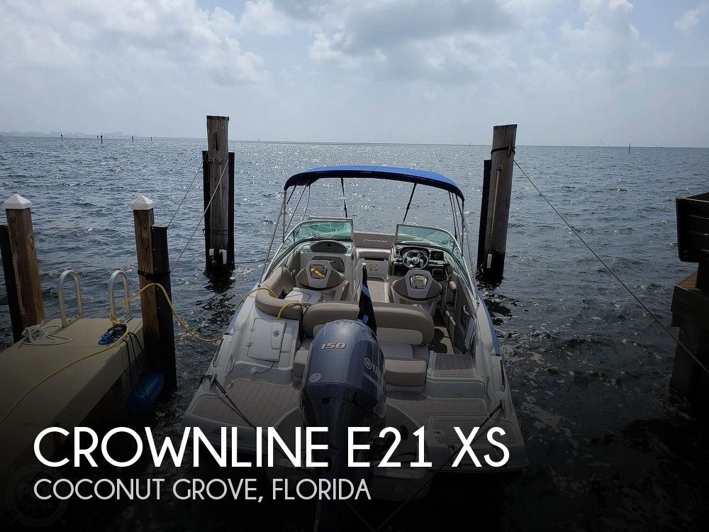 2018 Crownline boat for sale, model of the boat is E21 XS & Image # 1 of 40
