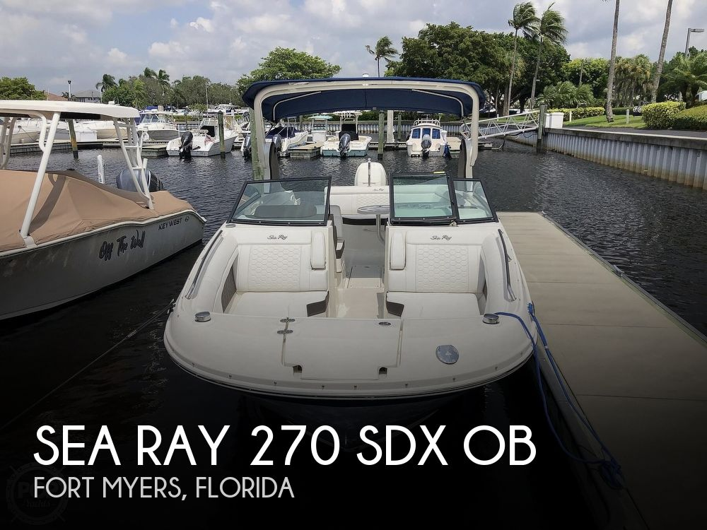 2018 Sea Ray boat for sale, model of the boat is 270 SDX OB & Image # 1 of 40