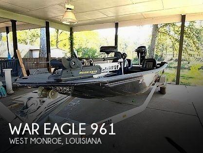 2017 War Eagle boat for sale, model of the boat is 961 Blackhawk & Image # 1 of 9