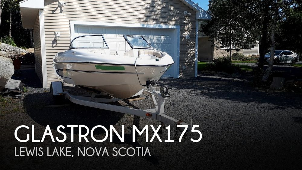 2004 Glastron boat for sale, model of the boat is MX175 & Image # 1 of 40