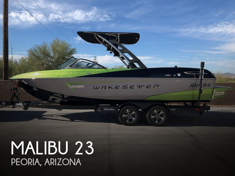 Used Power boats For Sale in Phoenix, Arizona by owner   2014 Malibu Wakesetter 23 LSV