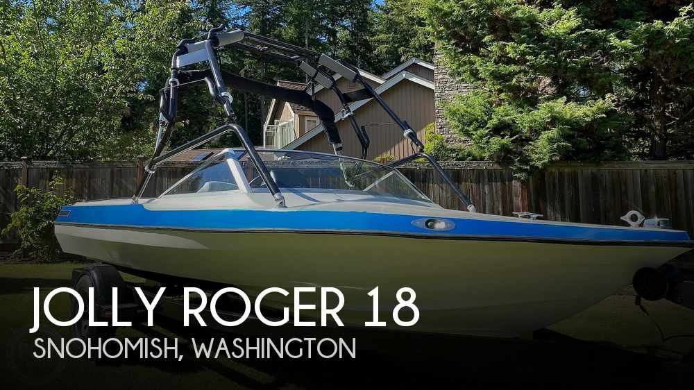 1991 Jolly Roger boat for sale, model of the boat is 18 SkiMaster & Image # 1 of 25